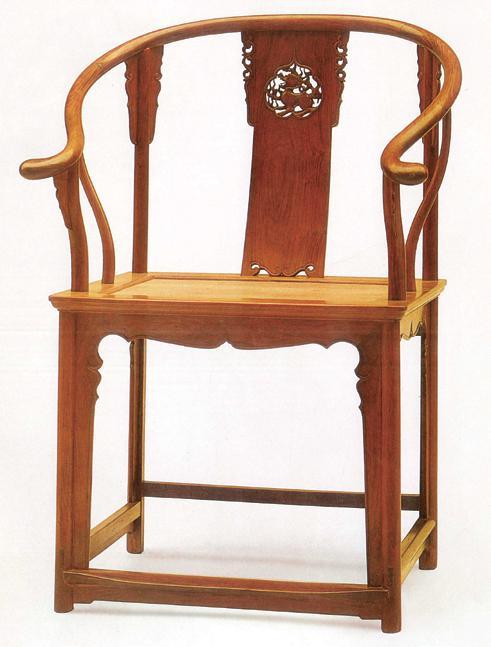 明式圈椅曲线围合造型的特征研究