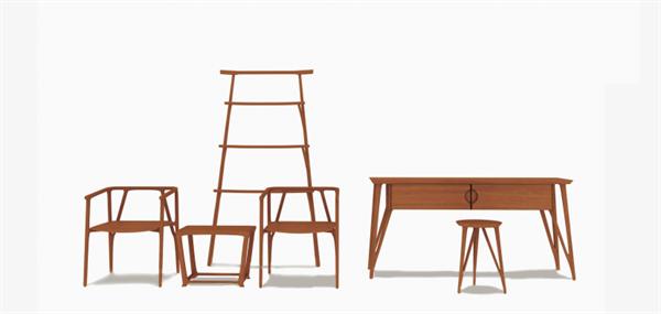 素枝意由心起,枝由根生,是生系列作品灵感的来源。《素枝》实木系列,提取了树枝中造型简洁的线条,不采用任何的装饰符号与装饰部件,以干练的线条变化,表达了基本构件的形式美法则,将自然的生命力巧妙的融合在作品中,透露出一种极具生命力的艺术美感。本系列含桌、椅、凳、几、架等六件产品,现代简约。 【素知】