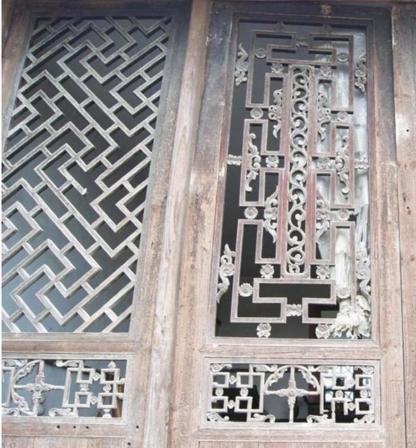深度│探析湘西民居木雕窗棂图案之美